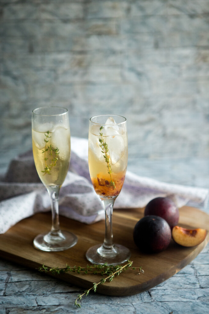 Plum and Thyme Prosecco