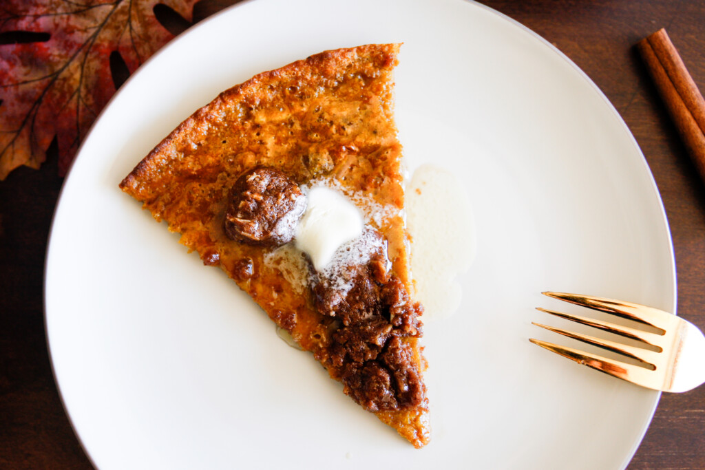 """Pumpkin """"Dutch Baby"""" with Streusel Topping"""