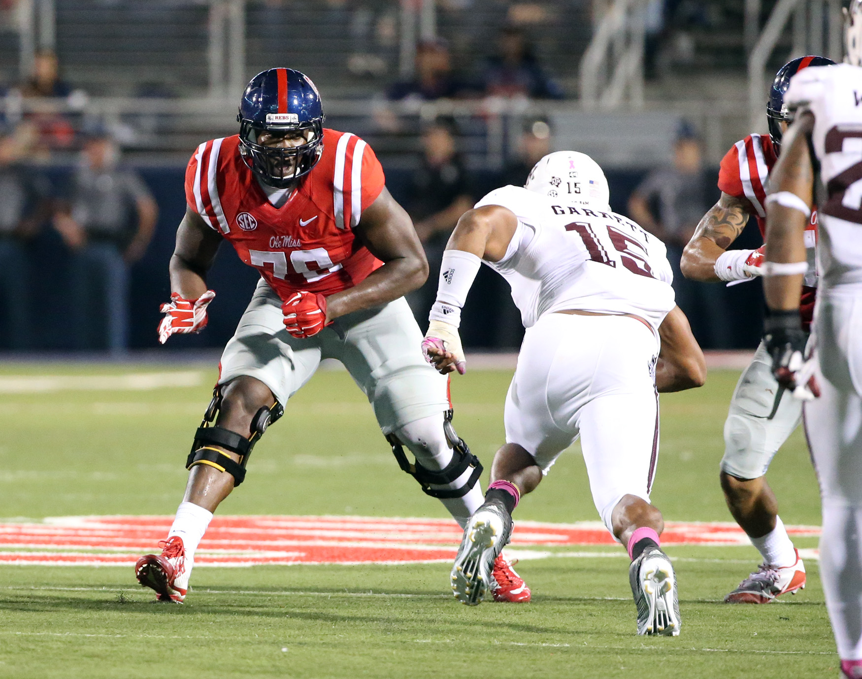 Ole Miss Football defeated Texas A&M 23-3 on October 24th, 2015 in Oxford, MS. Photo by Joshua McCoy/Ole Miss Athletics