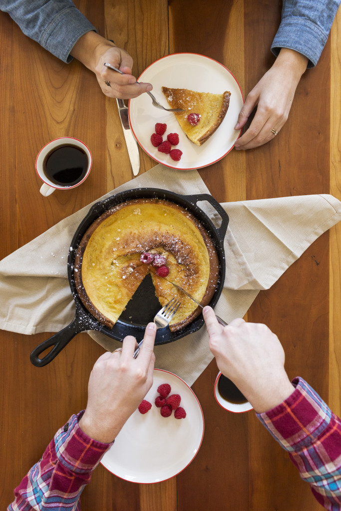 Brunch in Bed | Cast-Iron Dutch Baby