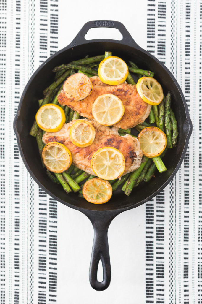 Recipe: Lemon Chicken with Asparagus