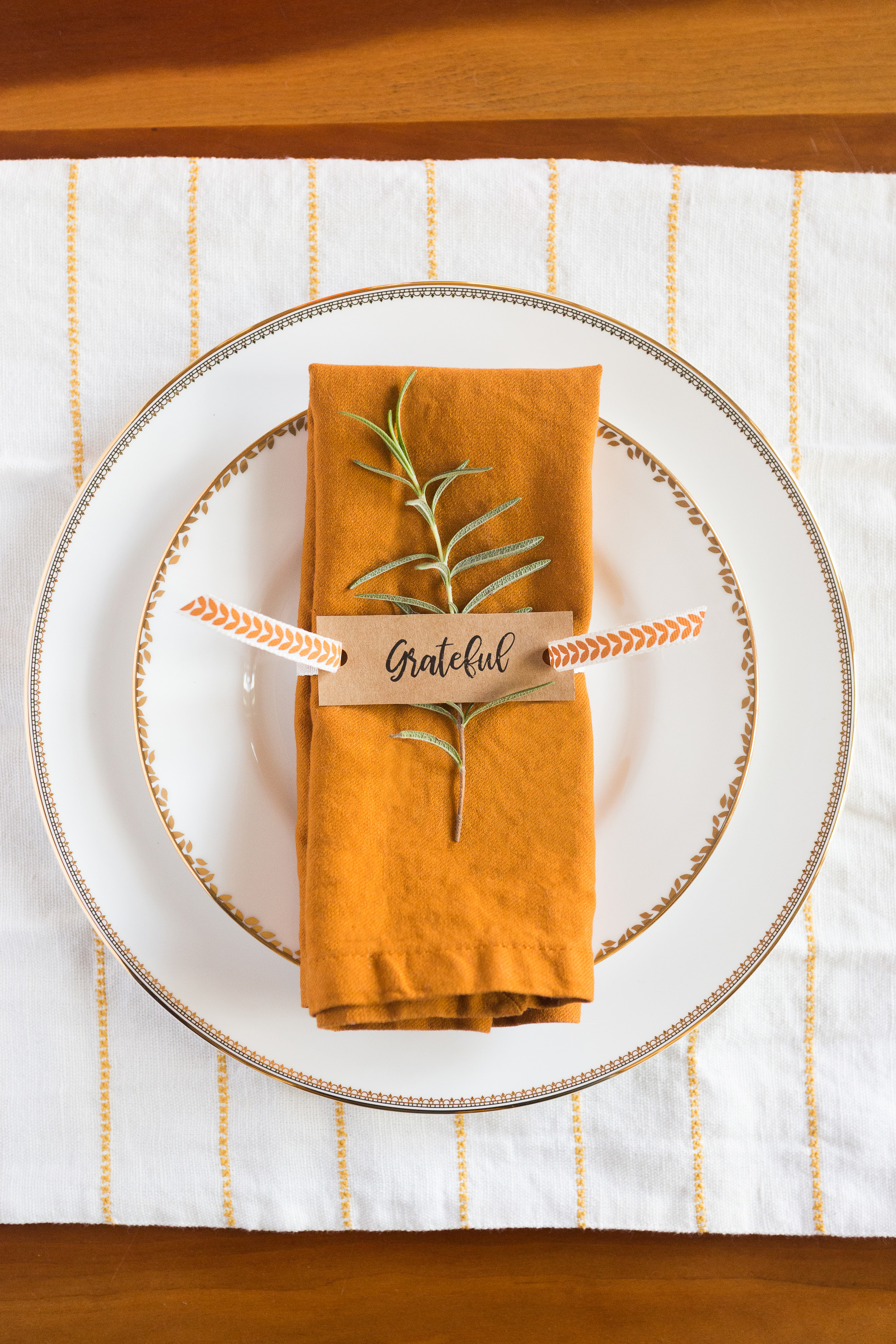 Diy Thanksgiving Napkin Rings Mud And Magnolias