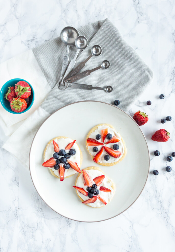 Recipe: Red, White and Blue Sugar Cookies